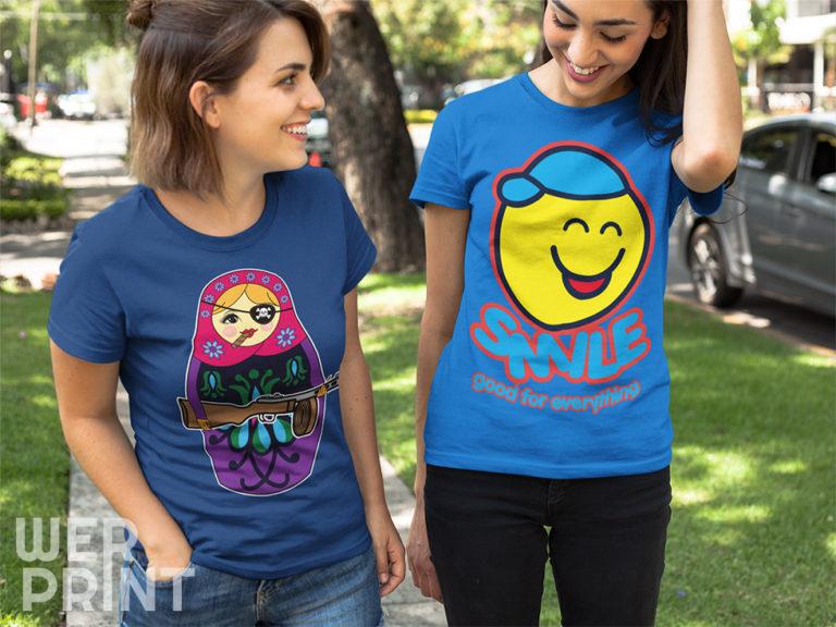 Letnie wzory koszulek na lato