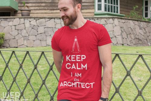 Koszulka Werprint - Keep Calm I am architect!
