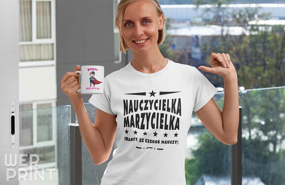 Koszulka z nadrukiem na Dzień Nauczyciela - Werprint