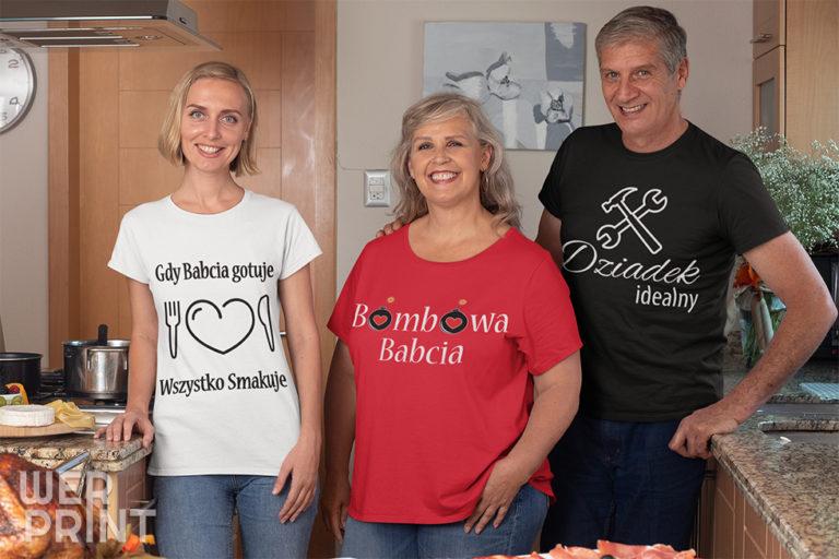 Koszulki na Dzień Babci i Dziadka - Werprint