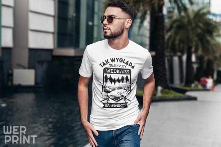 Koszulki z nadrukiem dla męża