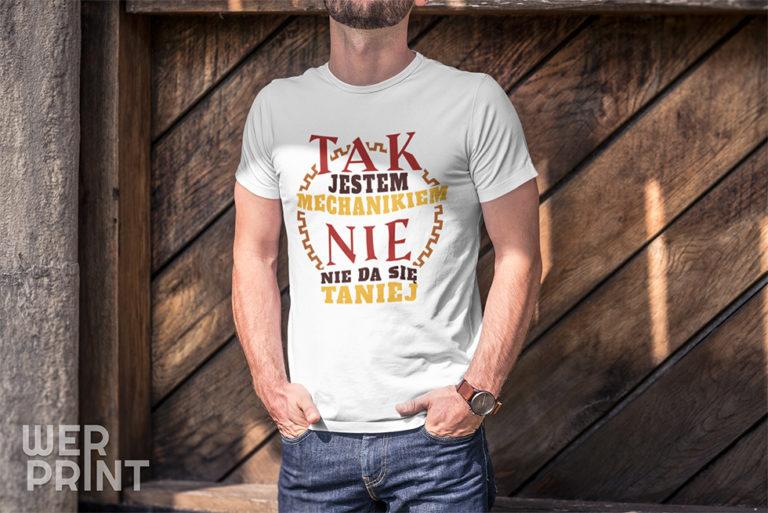 Koszulka - Taniej się nie da - Werprint