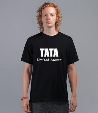 Tata z limitowanej edycji.  - Koszulka z nadrukiem - Dla Taty - Męska