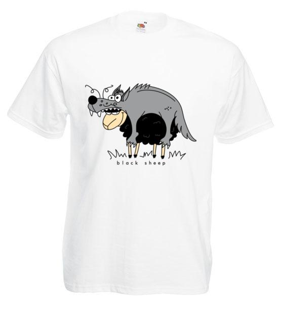 Czy tylko wilki w owczej skorze chodza koszulka z nadrukiem smieszne mezczyzna werprint 204 2