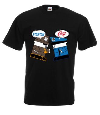Pepsi piją lepsi? - Koszulka z nadrukiem - Nasze podwórko - Męska
