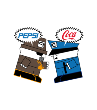 Pepsi pija lepsi grafika na koszulke meska 214