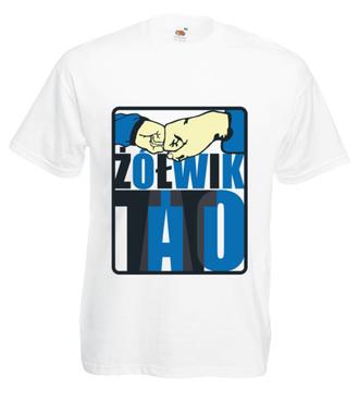 Dawaj żółwia, tato!  - Koszulka z nadrukiem - Dla Taty - Męska