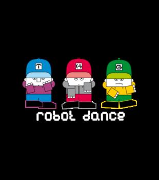 Taniec ludzi robotow grafika na koszulke meska 222