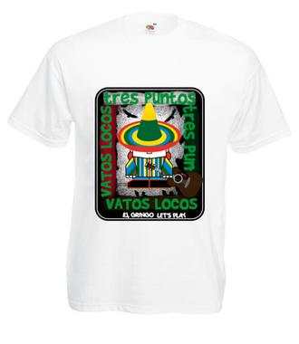 Graj, Nasz gringo! - Koszulka z nadrukiem - Nasze podwórko - Męska