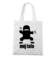 Ninja tata moj bohater torba z nadrukiem dla taty gadzety werprint 49 161