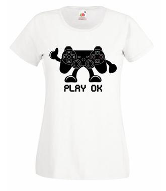 Moja ulubiona gra'rderoba - Koszulka z nadrukiem - dla Gracza - Damska