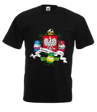 Polska, mój wspaniały kraj - Koszulka z nadrukiem - Nasze podwórko - Męska