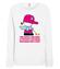 Bo ja wiele rzeczy lubie bluza z nadrukiem nasze podworko kobieta werprint 253 114