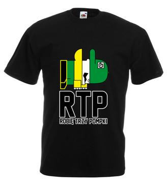RTP - siłaczem jestem - Koszulka z nadrukiem - Nasze podwórko - Męska