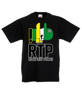 RTP - siłaczem jestem - Koszulka z nadrukiem - Nasze podwórko - Dziecięca