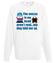 Glosy w mojej glowie bluza z nadrukiem nasze podworko mezczyzna werprint 258 106