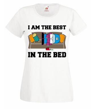 Najlepszy w łóżku - Koszulka z nadrukiem - Nasze podwórko - Damska