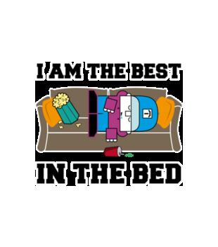 Najlepszy w lozku grafika na koszulke dziecieca 259