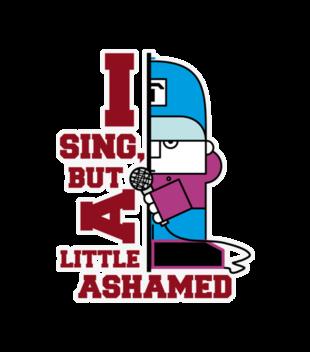 Spiewam ale sie wstydze grafika na koszulke dziecieca 262