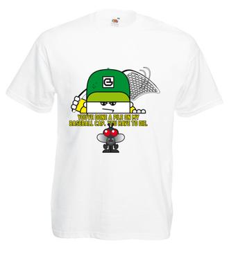Wara od mojej czapki! - Koszulka z nadrukiem - Nasze podwórko - Męska