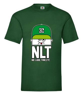 NLT – nie zmuszaj mnie - Koszulka z nadrukiem - Nasze podwórko - Męska