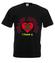 Atak zranionych serc koszulka z nadrukiem na walentynki mezczyzna werprint 58 1