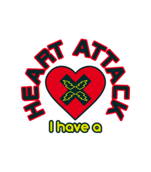 Atak zranionych serc grafika na koszulke meska 58