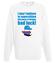 Zabobony precz bluza z nadrukiem nasze podworko mezczyzna werprint 268 106