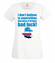 Zabobony precz koszulka z nadrukiem nasze podworko kobieta werprint 268 58