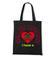 Atak zranionych serc torba z nadrukiem na walentynki gadzety werprint 58 160