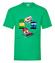 Przejechany nie wyprasowany koszulka z nadrukiem nasze podworko mezczyzna werprint 271 186