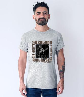 Wolność przede wszystkim - Koszulka z nadrukiem - Patriotyczne - Męska