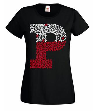 Patriotyzm we krwi - Koszulka z nadrukiem - Patriotyczne - Damska