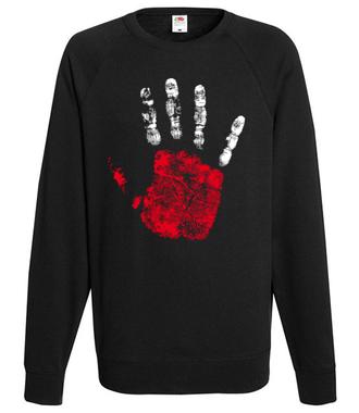 High five, Polaku! - Bluza z nadrukiem - Patriotyczne - Męska