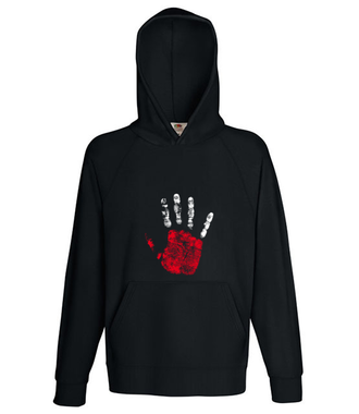 High five, Polaku! - Bluza z nadrukiem - Patriotyczne - Męska z kapturem