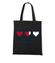 Wszystkie moje serca sa dla ciebie torba z nadrukiem na walentynki gadzety werprint 62 160