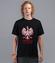 Kto ty jestes koszulka z nadrukiem patriotyczne mezczyzna werprint 293 41