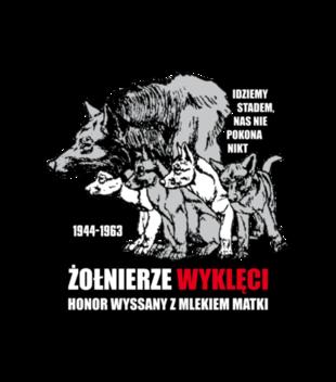 Krew honor ojczyzna grafika na koszulke meska 304