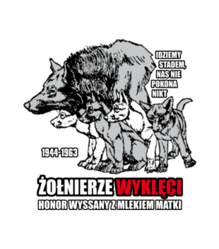 Krew honor ojczyzna grafika na bluze meska 304