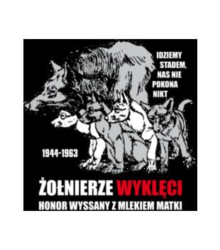 Krew honor ojczyzna grafika na koszulke damska 304