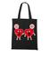 Milosc nie wybiera serce nie rozum torba z nadrukiem na walentynki gadzety werprint 65 160