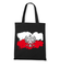 Bialo i czerwono na tle torba z nadrukiem patriotyczne gadzety werprint 309 160