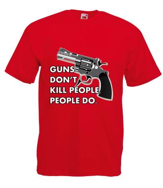 To robią tylko ludzie - Koszulka z nadrukiem - Patriotyczne - Męska