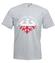 Ojczyzna krew i blizna koszulka z nadrukiem patriotyczne mezczyzna werprint 317 6
