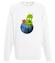 Ratuj swoja planete bluza z nadrukiem patriotyczne mezczyzna werprint 321 106