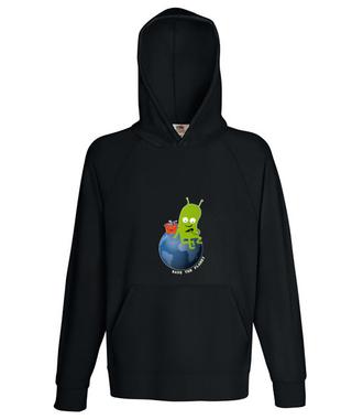 Ratuj swoją planetę - Bluza z nadrukiem - Patriotyczne - Męska z kapturem