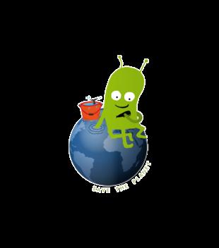Ratuj swoja planete grafika na bluze z kapturem meska 321