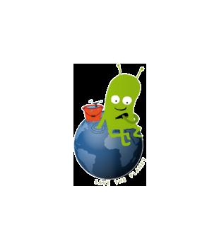 Ratuj swoja planete grafika na poduszke 321