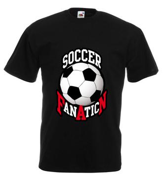 Zafiksowany na punkcie piłki - Koszulka z nadrukiem - Sport - Męska