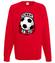 Zafiksowany na punkcie pilki bluza z nadrukiem sport mezczyzna werprint 325 108